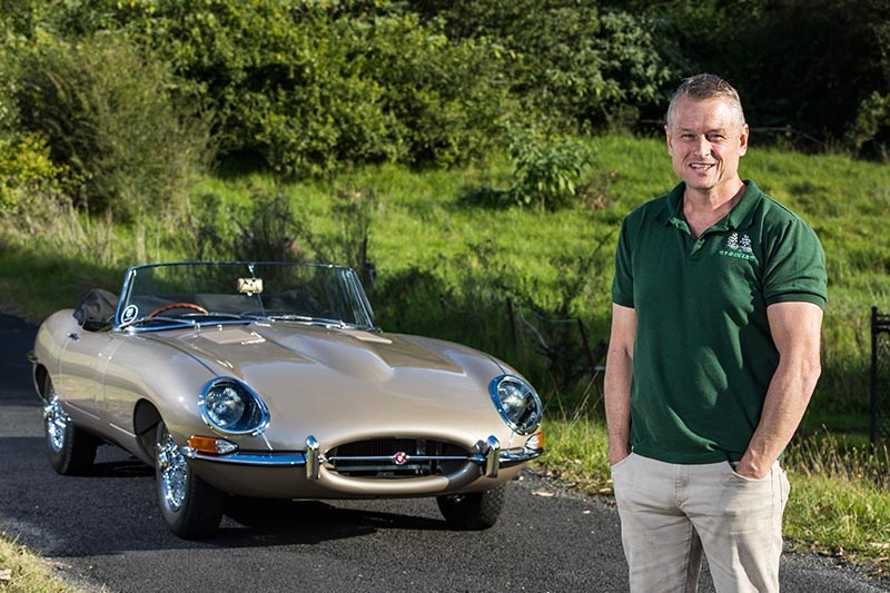 jaguar e type chris larkham