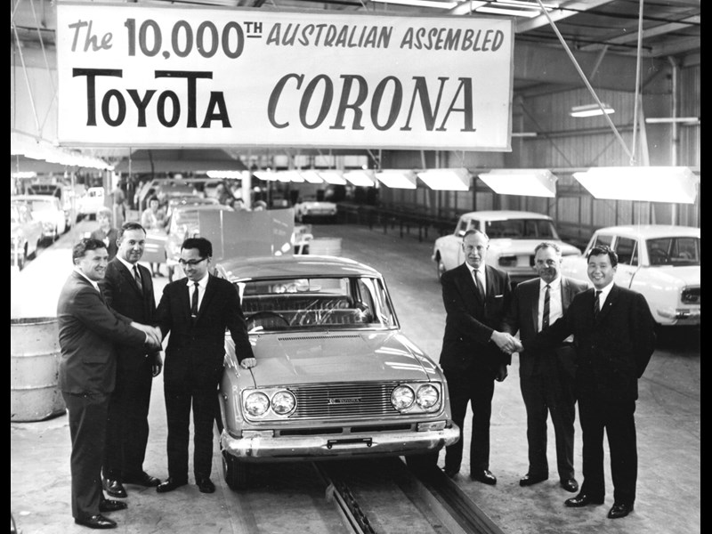 Toyota ceases Australian manufacturing operations
