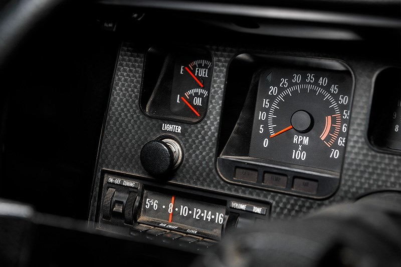 holden hq ss dash