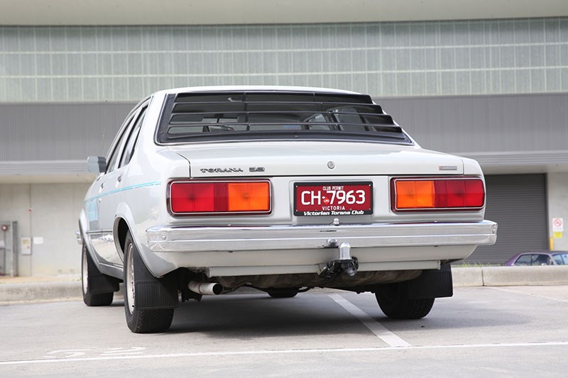holden torana rear