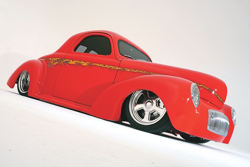 Aussie-Themed 1941 Willys Coupe Custom