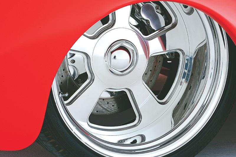willys coupe wheel