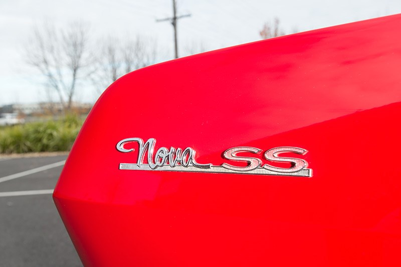 chevrolet nova badge