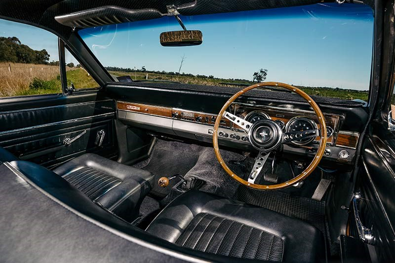 ford falcon interior 2