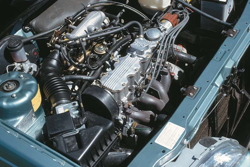 holden camira engine