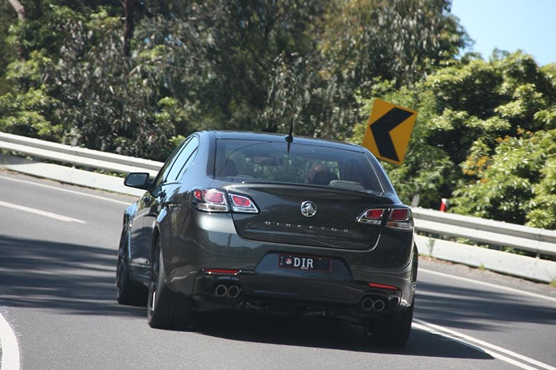 holden commodore director onroad