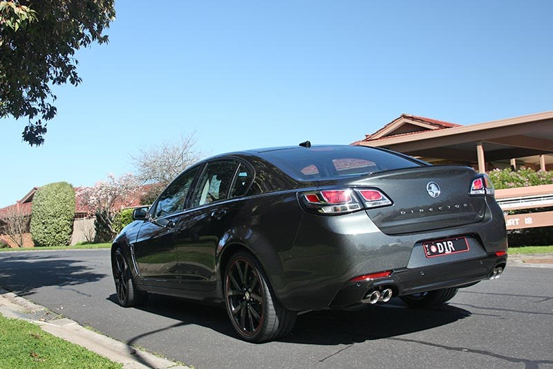holden commodore director rear