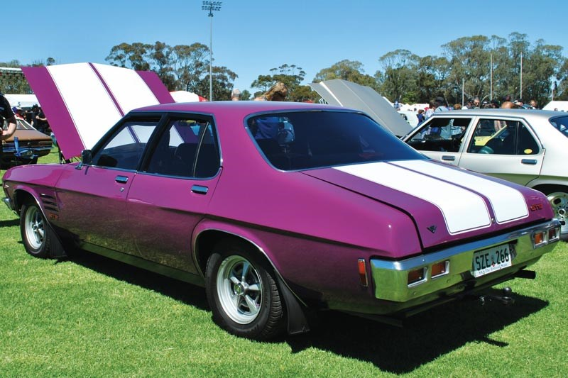 holden hq monaro rear