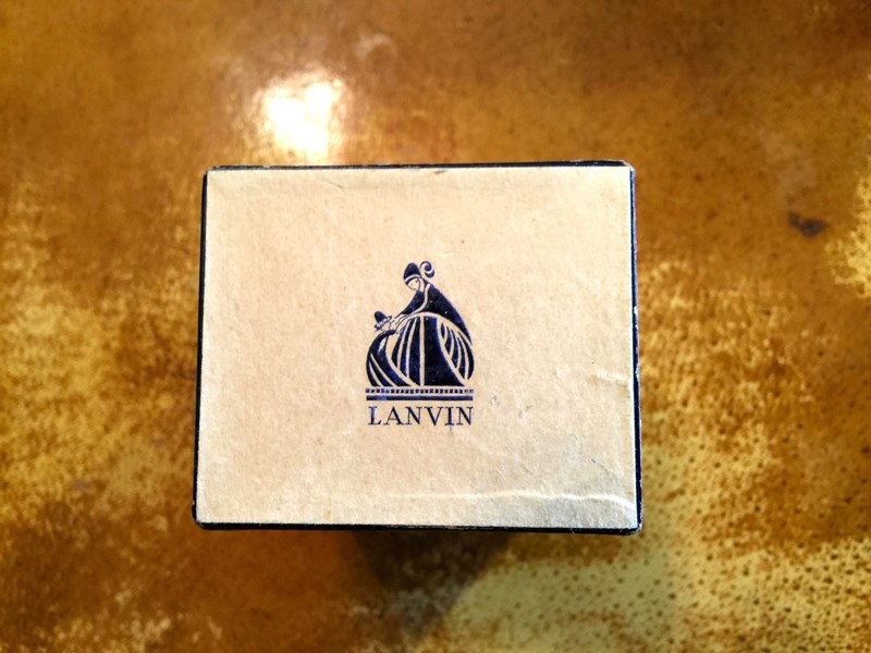 new-old-stock Arpege atomizer complete with Lanvin perfume