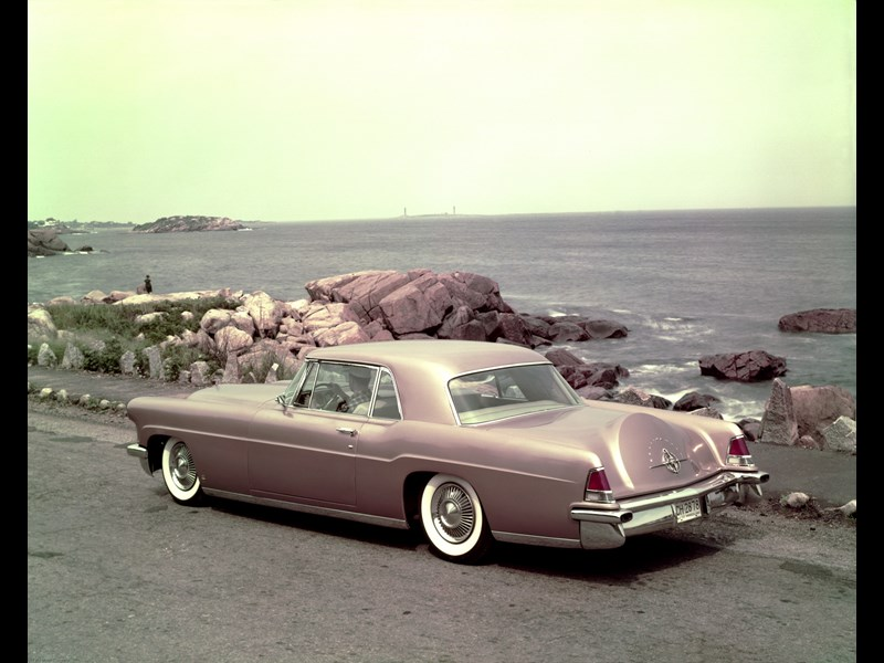 1956 Lincoln Continental Mark II Press Shot