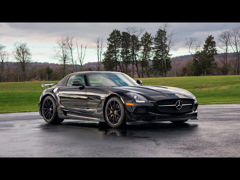 Mercedes-AMG SLS Black Series Michael Fux Collection