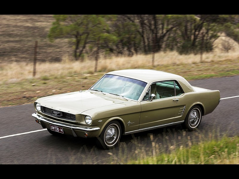 althea 1966 ford mustang