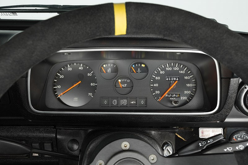 ford escort dash