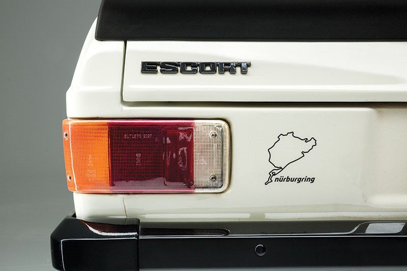 ford escort taillight