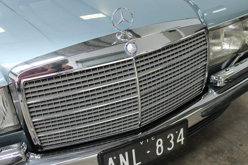 mercedes benz 450 sel grille