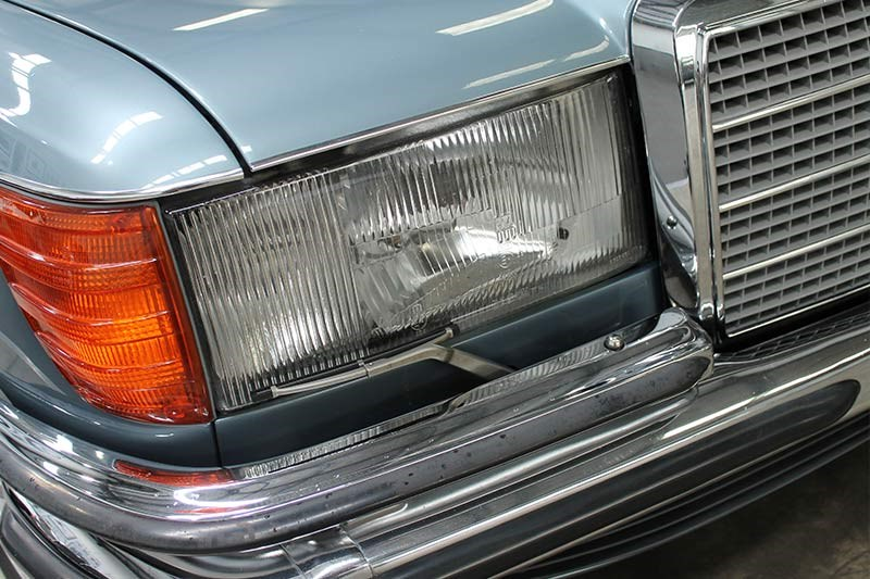 mercedes benz 450 sel headlight
