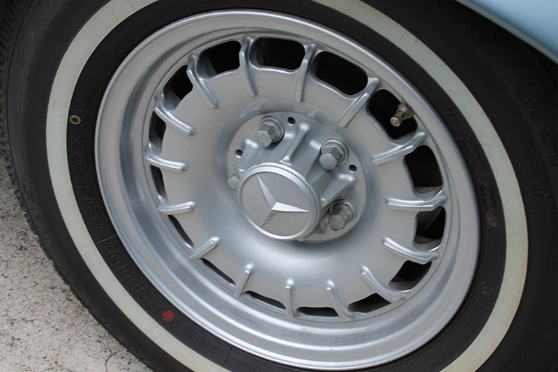 mercedes benz 450 sel wheel