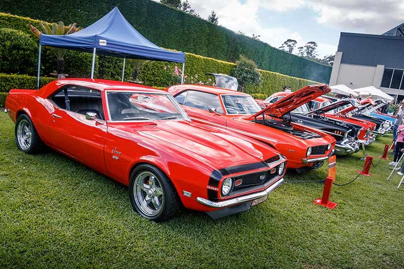 northern beaches muscle car show 55