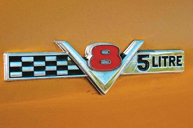 south african monaro badge