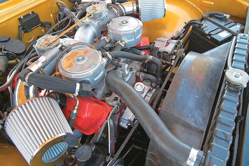 south african monaro engine