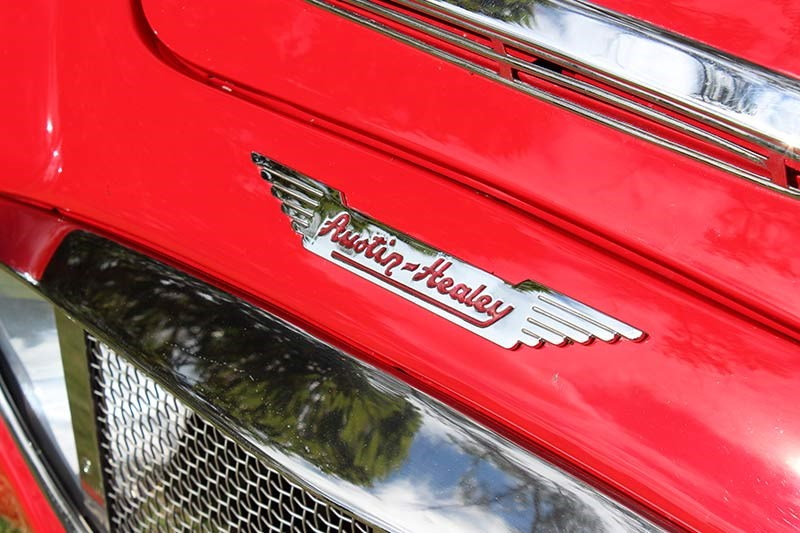 austin healey badge 2