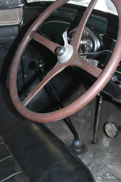 ford model a steering wheel