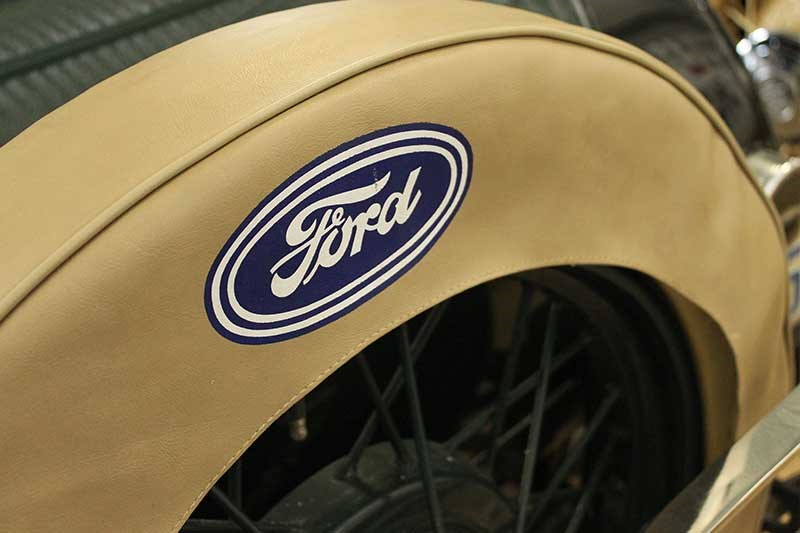 ford model a wheel cover