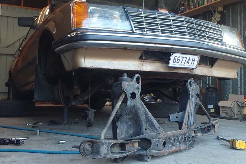 holden commodore suspension 10