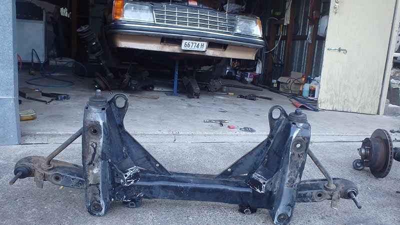 holden commodore suspension 2