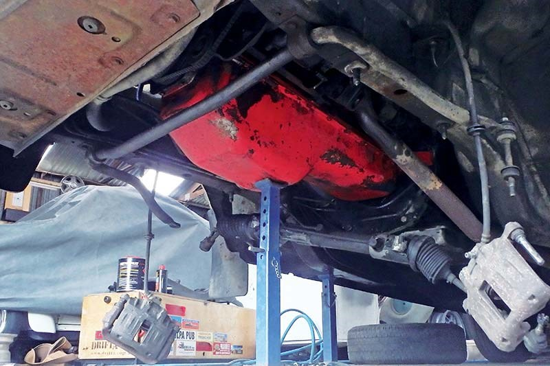 holden commodore suspension 4