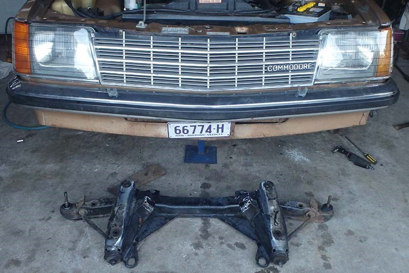 holden commodore suspension 5