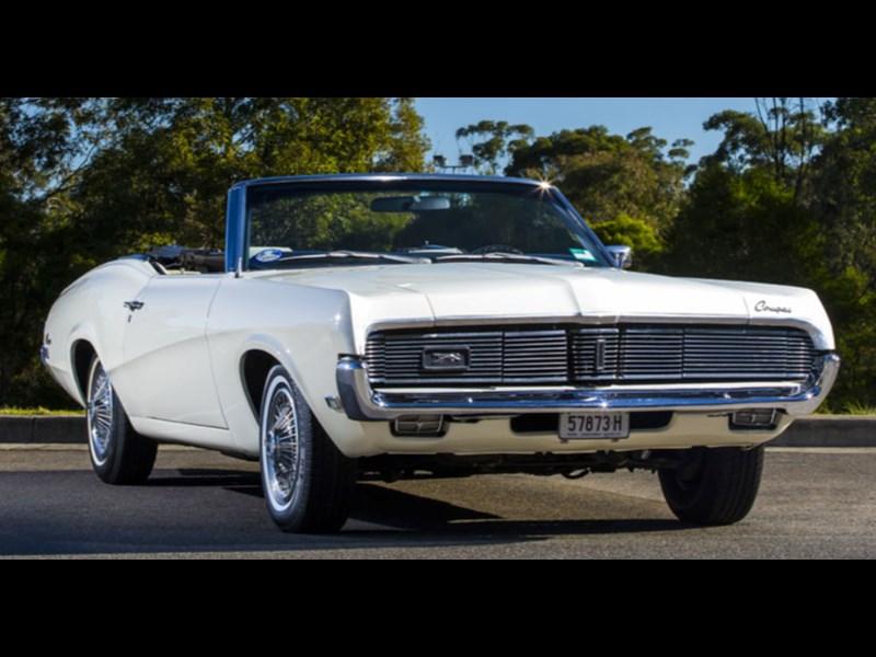 1960s mercury cougar