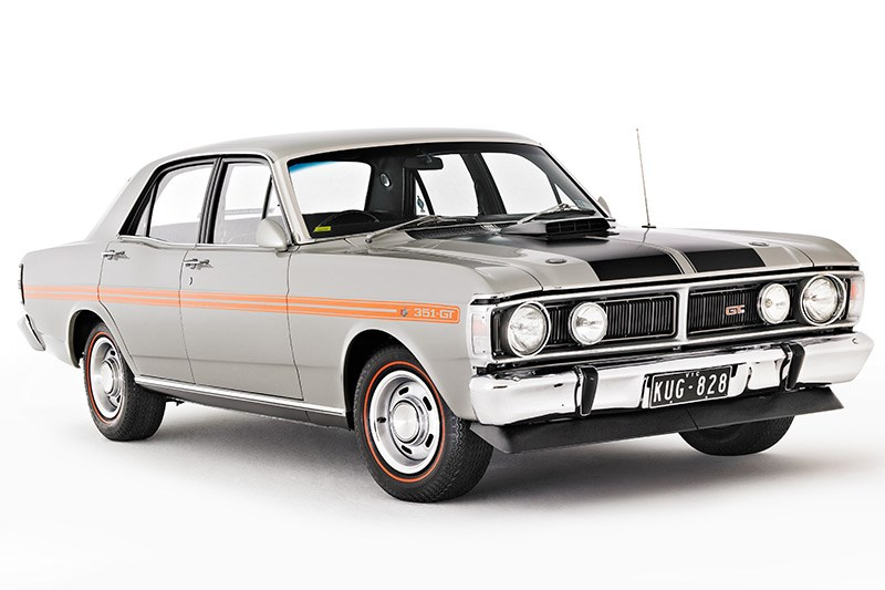 ford falcon xy gt front 3
