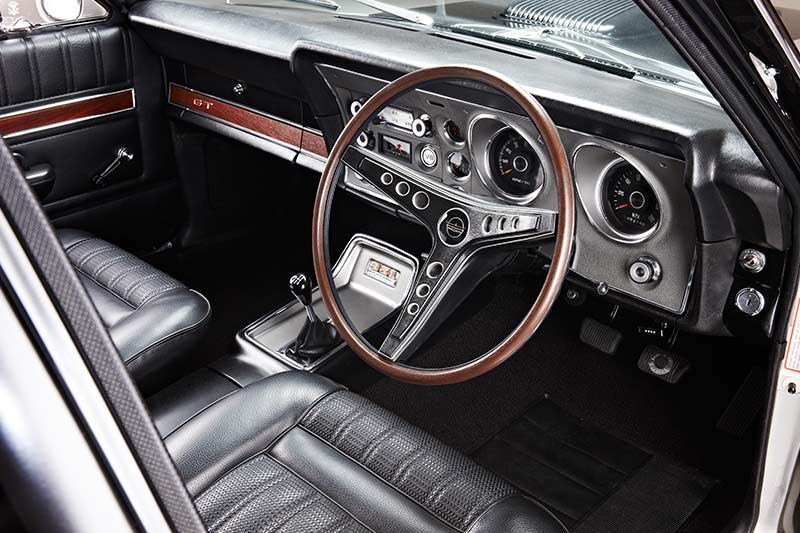 ford falcon xy gt interior front