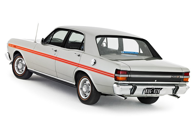 ford falcon xy gt rear 2