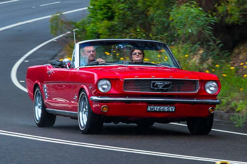 ford mustang onroad 63