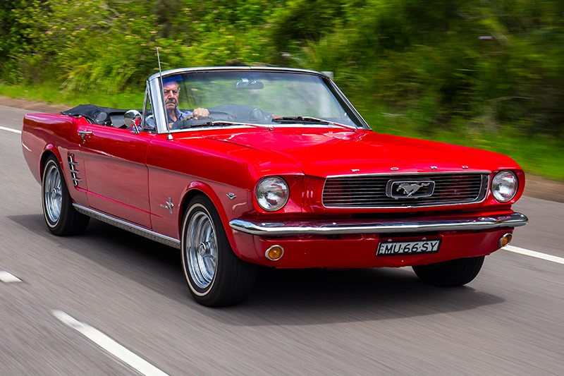 ford mustang onroad