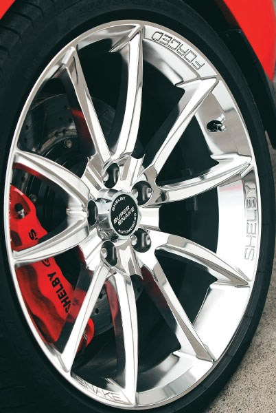 shelby gt500 super snake wheel 2