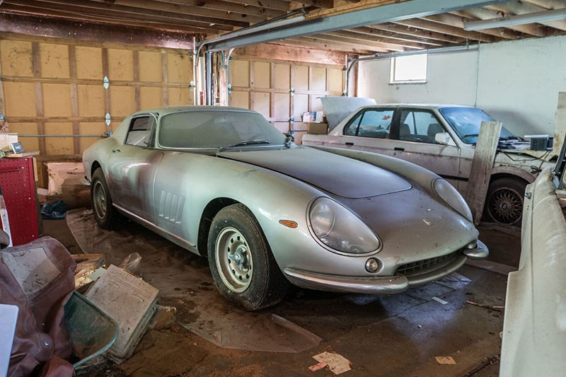 1966 ferrari 275 gtb barn find