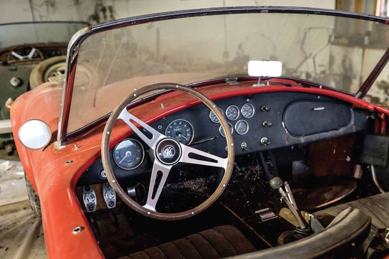 cobra barn find dash