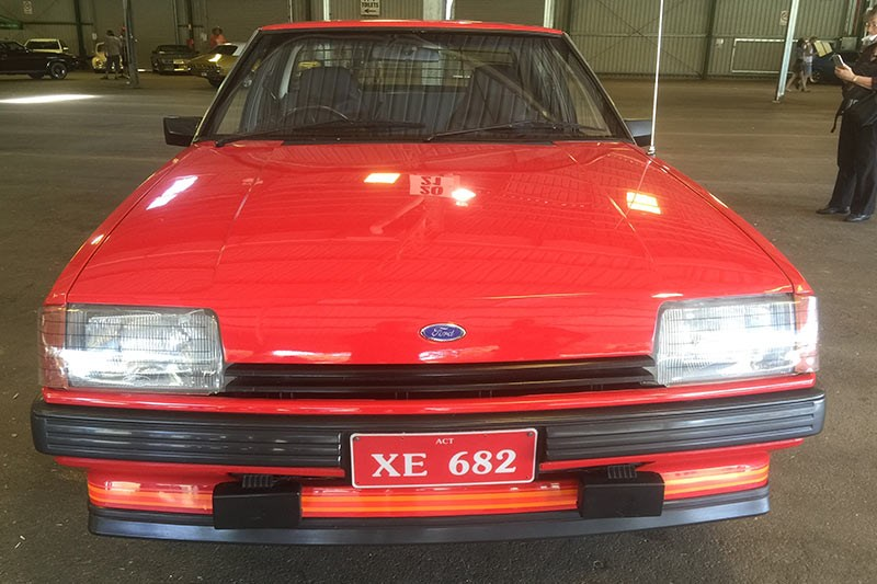 ford falcon xe front