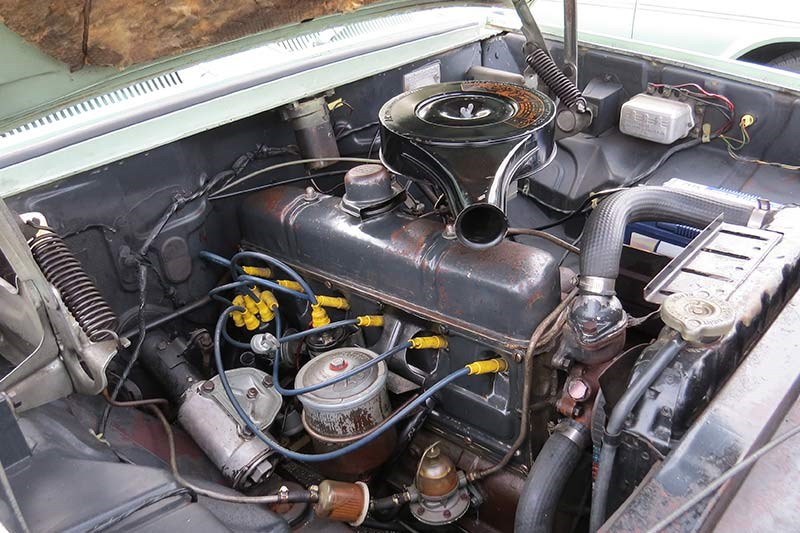 holden ej special engine bay