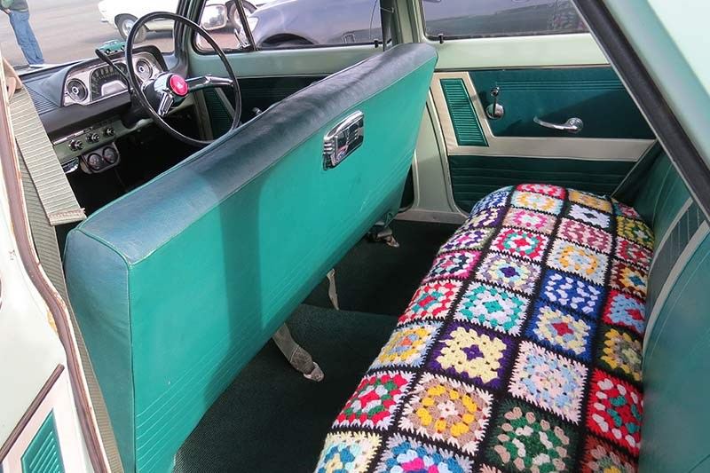 holden ej special interior rear