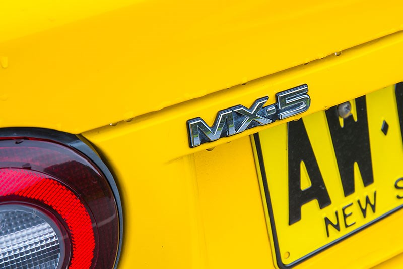 mazda mx5 badge