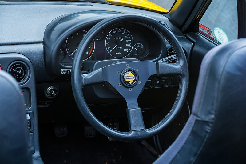 mazda mx5 interior dash