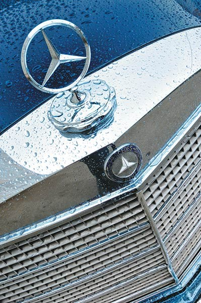 mercedes benz pullman badge