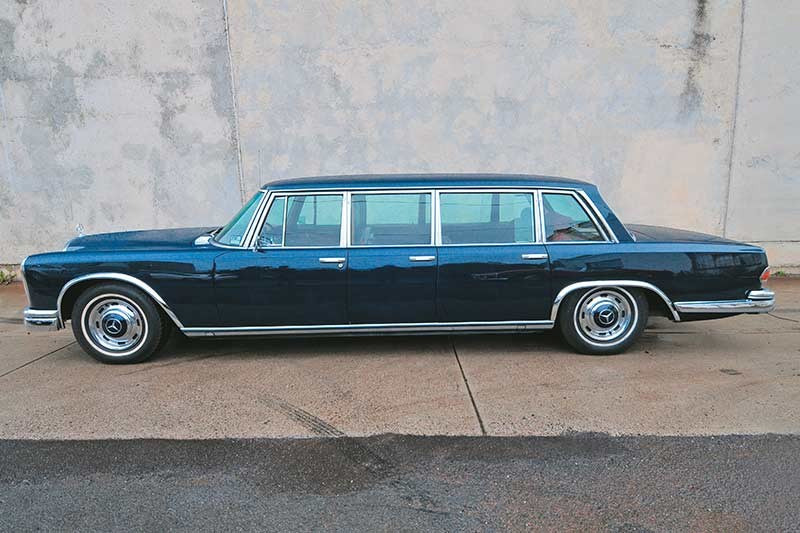 mercedes benz pullman side