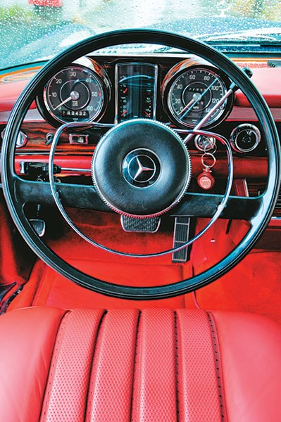 mercedes benz pullman steering wheel
