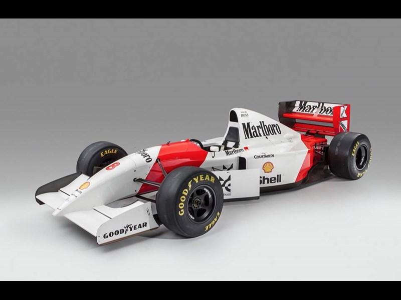 Senna F1 McLaren up for auction
