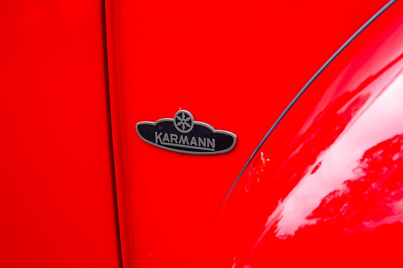 vw beetle karmann badge 2